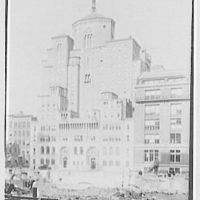 Y.M.C.A., 63rd St., New York City. From first floor, Mayflower Hotel
