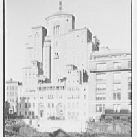 Y.M.C.A., 63rd St., New York City. General view from Mayflower Hotel