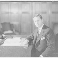 Roy E. Chapin, Secretary of Commerce. Portrait of Roy E. Chapin II
