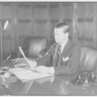 Roy E. Chapin, Secretary of Commerce. Portrait of Roy E. Chapin III