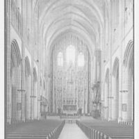 St. Thomas Church, 5th Ave. and 53rd St., New York City. General interior, seven-inch lens