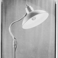 Potomac Electric Power Co. electric appliances. Close-up of lamp