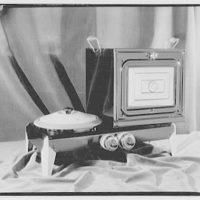 Potomac Electric Power Co. electric appliances. Portable stove