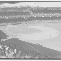 World Series of 1933, Washington, D.C. Baseball field during last game
