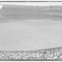 World Series of 1933, Washington, D.C. Baseball field from center field