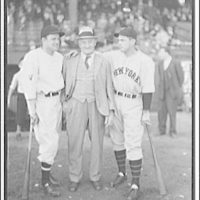 World Series of 1933, Washington, D.C. Left to right: Cronin, Hans Wagner, Terry