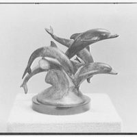 Edward M.M. Warburg, 37 Beekman Pl., New York City. Dolphins