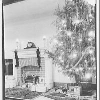 Electric Institute of Washington, Potomac Electric Power Co. Building. Christmas display at the Electric Institute III