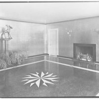 Mrs. William E. Clow, Jr., residence in Lake Forest, Illinois. Entrance hall, general
