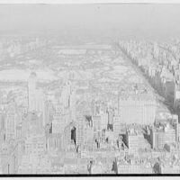 New York city views. Central Park, from RCA, north