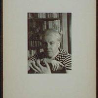 [Portrait of Carl Van Vechten]