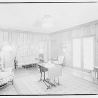 Potomac Electric Power Co. model home. Rumpus room in model home