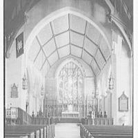 Christ Church, Greenwich, Connecticut. Chancel detail