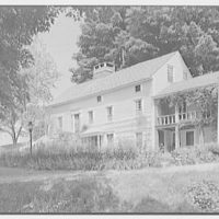 Donn Jefferson Sheets, residence in New Preston, Connecticut. General exterior, from right