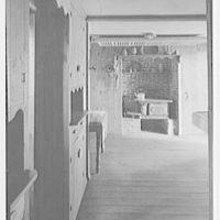 Donn Jefferson Sheets, residence in New Preston, Connecticut. Kitchen
