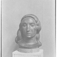 Gaston Lachaise, exhibition at Museum of Modern Art. Head II