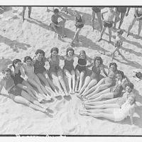 Glen Echo amusement park. Bathing girls at Glen Echo VI