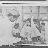Khorog, Soviet Pamir region, USSR. Training course for nurses