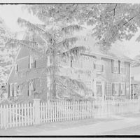 Longmeadow, Massachusetts. Colton house, 1735, from left