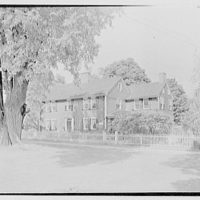 Longmeadow, Massachusetts. Colton house, 1735, from right
