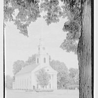 Longmeadow, Massachusetts. Meeting house, 1768, from left II