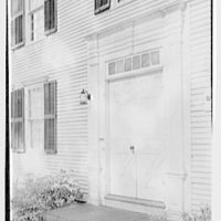 Longmeadow, Massachusetts. Storrs house, 1786, entrance detail