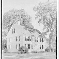 Longmeadow, Massachusetts. Storrs house, 1786, from left