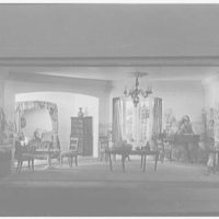 Mrs. Edward Titus (Mme Helena Rubinstein), residence at 895 Park Ave., New York City. Early American room