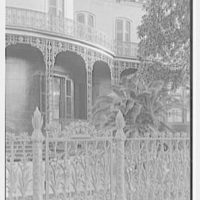 New Orleans photographs. Corn fence, Prytania and 4th St. I