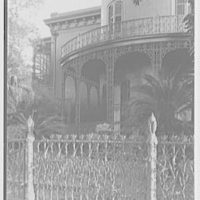 New Orleans photographs. Corn fence, Prytania and 4th St. III