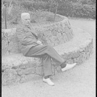 [Portrait of Norman Douglas, in the Cascine, Florence]