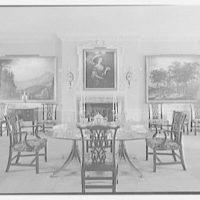 Richard V.N. Gambrill, Vernon Manor, residence in Peapack, New Jersey. Dining room I