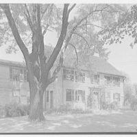 Enfield, Connecticut. Captain Dennis Bement, 1711, residence, general view