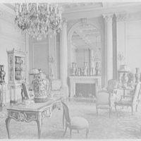 John D. Rockefeller, Jr., residence at 10 W. 54th St., New York City. Living room