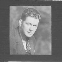 Portrait photograph of Gene Tunney