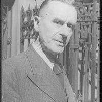 [Portrait of Thomas Mann]