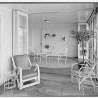 Arthur W. Rossiter, Jr., residence on St. Marks Lane, Islip, Long Island. Dining room