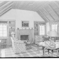 C. Maury Jones, residence in Peapack, New Jersey. Playroom