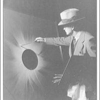 Charles Bittinger. Charles Bittinger shown in painting moon eclipse III