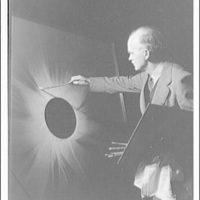 Charles Bittinger. Charles Bittinger shown in painting moon eclipse IV