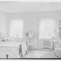 Charles H. Upson, residence in Middlebury, Connecticut. Daughter's yellow bedroom