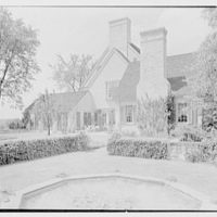 Charles H. Upson, residence in Middlebury, Connecticut. South facade, from right II