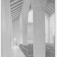 Church of the Epiphany, E. 74th St. and York Ave., New York City. Aisle view to chancel