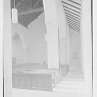 Church of the Epiphany, E. 74th St. and York Ave., New York City. Aisle view to entrance