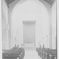 Church of the Epiphany, E. 74th St. and York Ave., New York City. Chancel detail