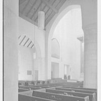 Church of the Epiphany, E. 74th St. and York Ave., New York City. Cross view to chancel