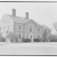 Edward K. Warren, residence in Field Point, Greenwich, Connecticut. Exterior