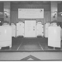 Electric Institute of Washington, Potomac Electric Power Co. Building. Appliances display, Electric Institute III