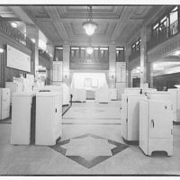 Electric Institute of Washington, Potomac Electric Power Co. Building. Appliances display, Electric Institute II