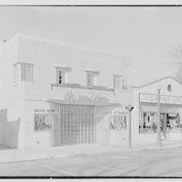 Emile's Beauty Shop, 82 N. Village Ave., Rockville Centre, Long Island. Exterior, beauty shop and A & P VI